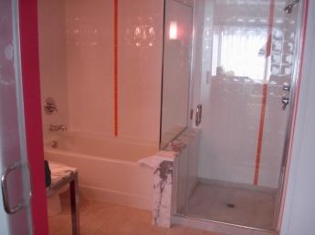 flamingo salle de bains