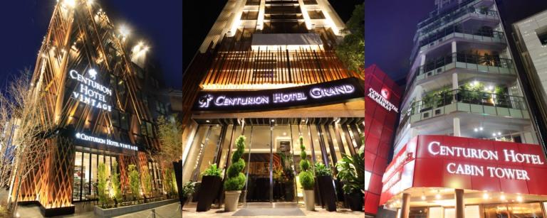 centurion hotels